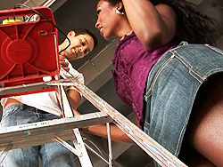 The handyman Pretty Natassia Dreams banged by the handyman.