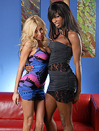 Natassia and kimber Ebony hotness Natassia getting it on with Kimber.