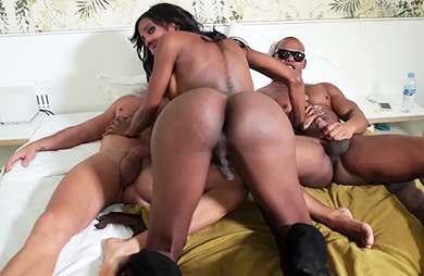 Natassia anthony and tony. Hot Natassia takes 2 heavy dicks